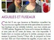 Aiguilles et fuseaux Cournon-d'Auvergne