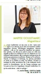 Maryse MARC LE CENDRE