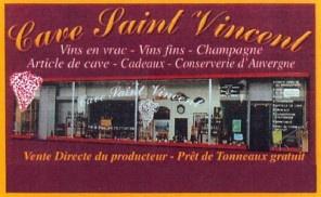 Cave St Vincent Cournon-d'Auvergne