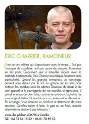 Ramonage Charrier Le Cendre