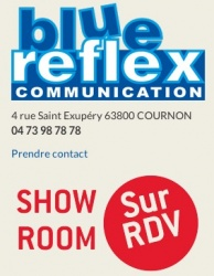BLUE REFLEX Communication COURNON D'AUVERGNE