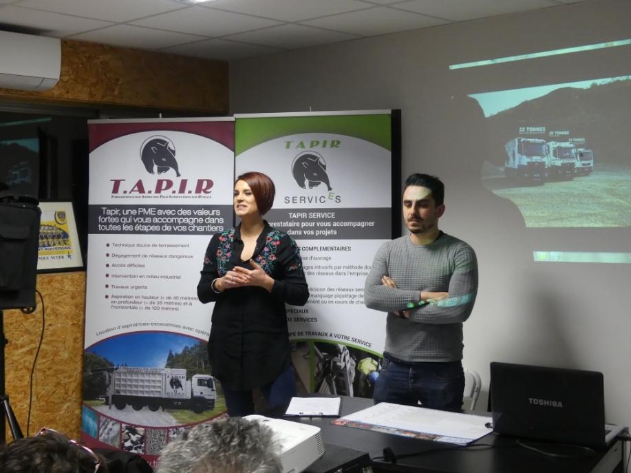 L'Assemblée Générale de l'ADEZAC a eu lieu jeudi 1er février dans les locaux de la Société TAPIR