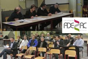 Première «Rencontre ADEZAC» 2013 : transmettre son entreprise